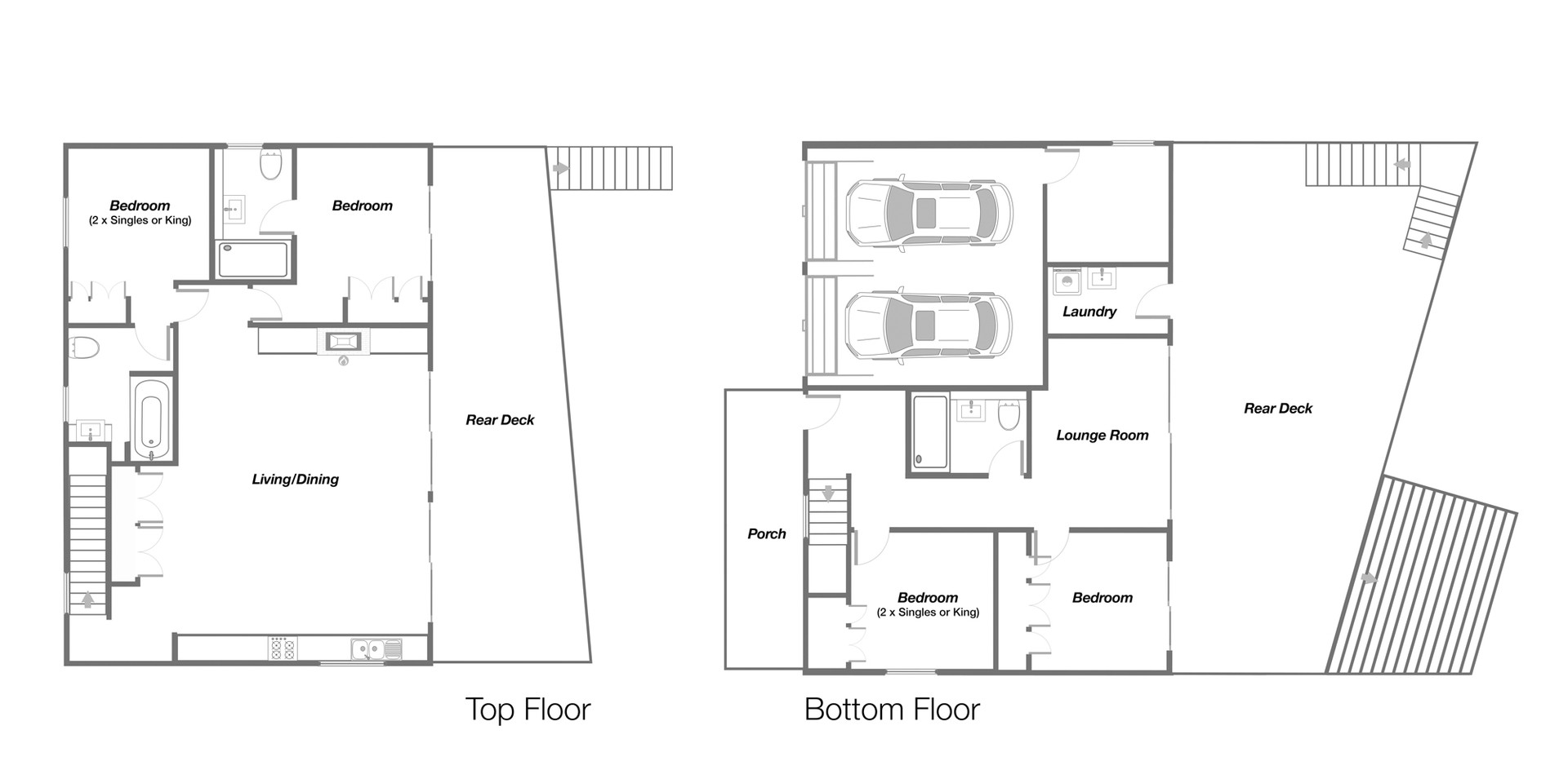 Holiday House Floor Plan