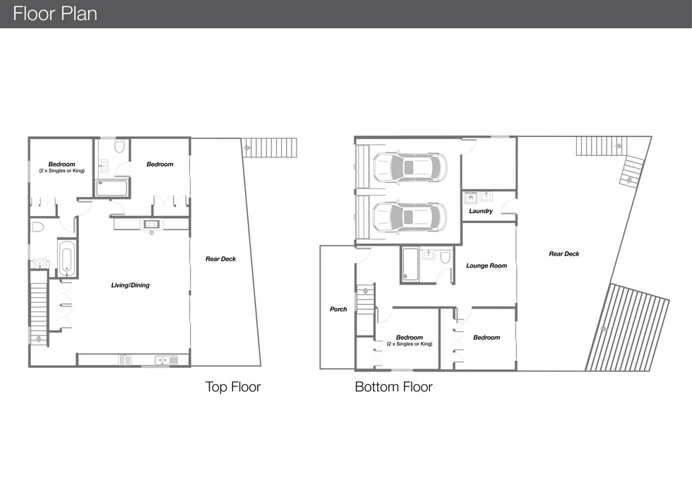 Holiday House Floor Plan