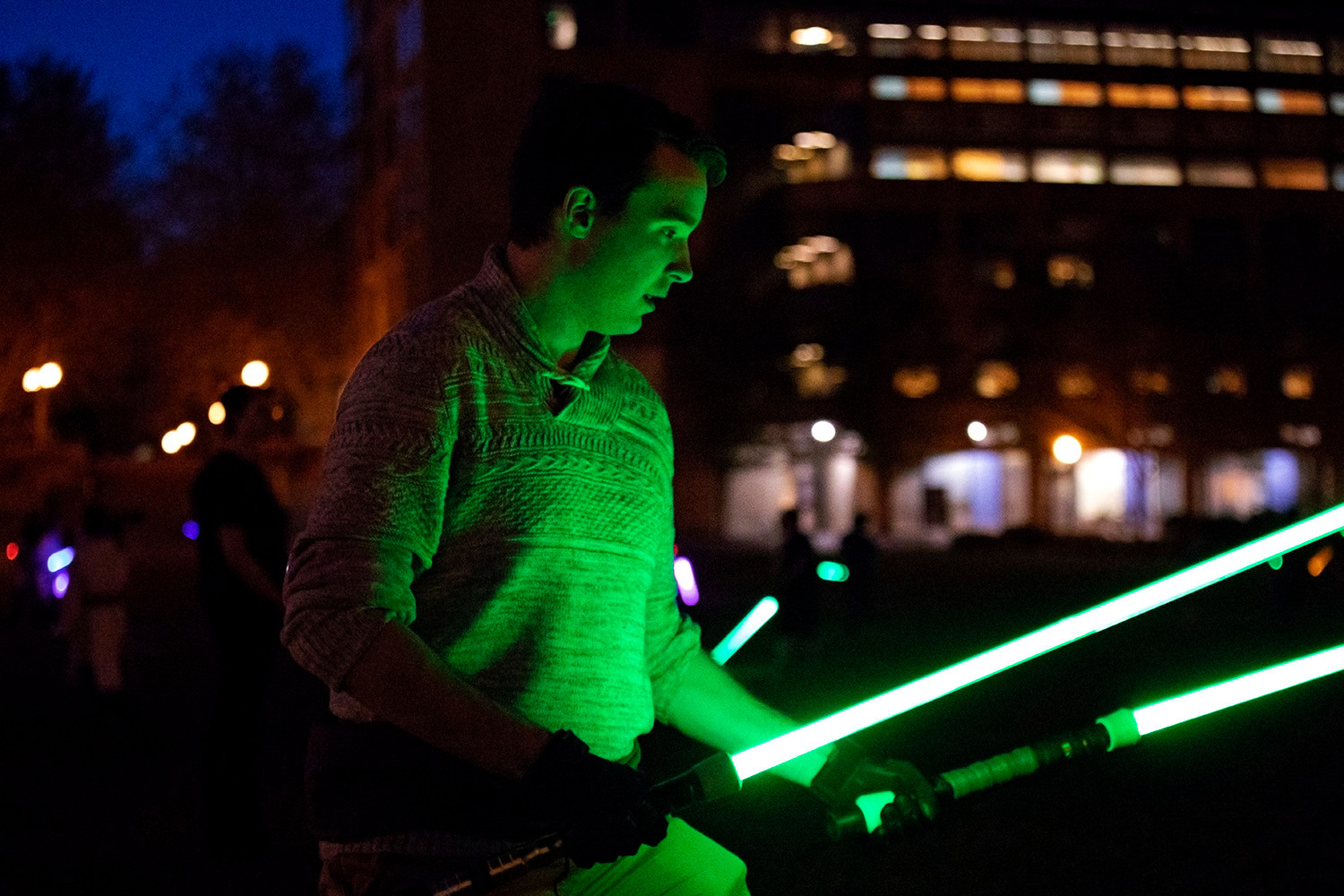 2019_05_04_Bellingham_Campus_Lightsabers