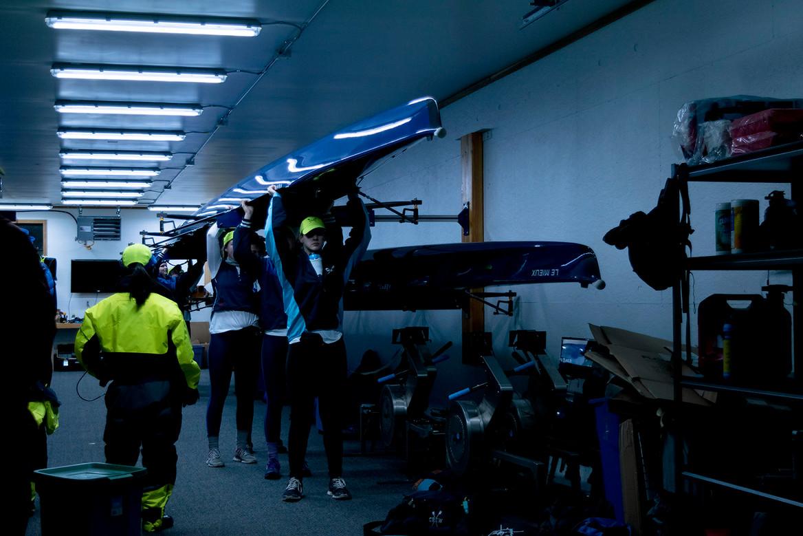 2018_02_03_Bellingham_LakeSamish_Rowing.