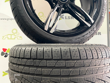 Llandes BMW i pneumàtics Pirelli