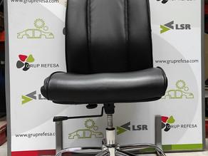 Cadira oficina amb rodes