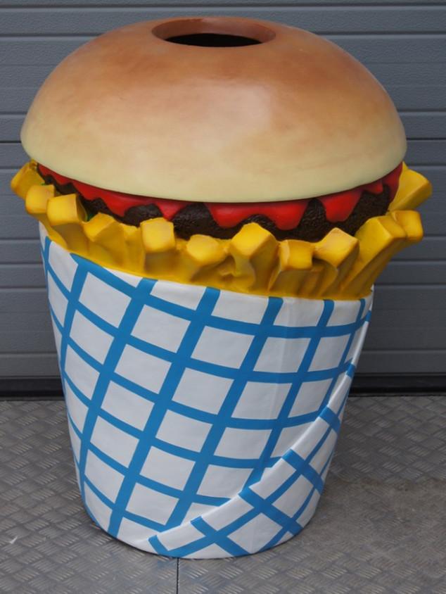 3D vuilnisbak