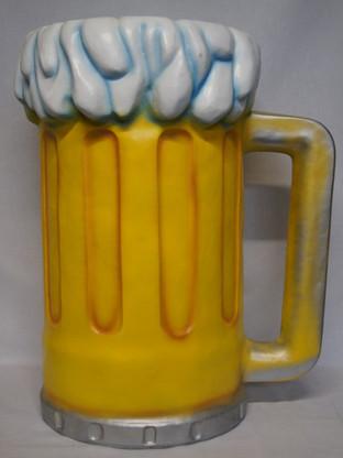 3D Glas bier