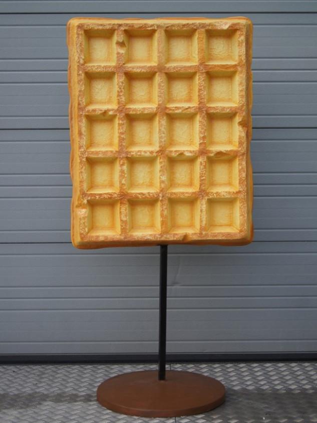 3D Brusselse wafel
