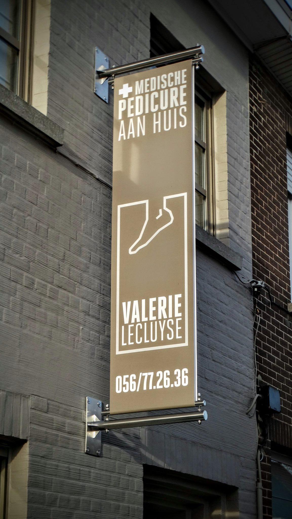 Gevelbannier Valerie Lecluyse