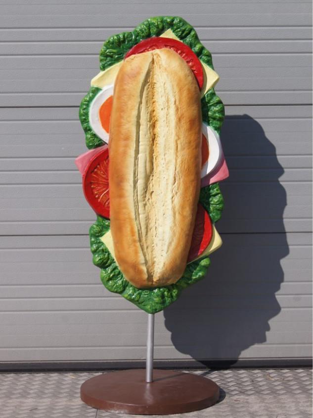 3D Belegd broodje