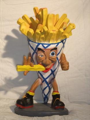 3D Frietzak - frietman