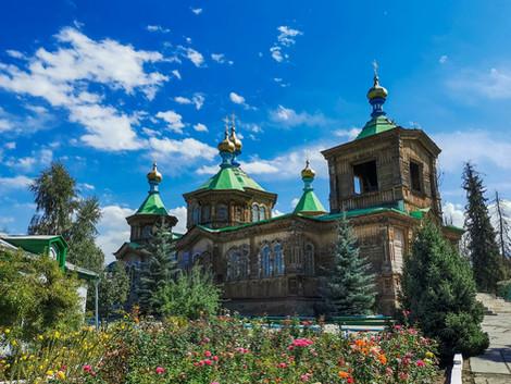 Orthodoxe kerk in Karakol