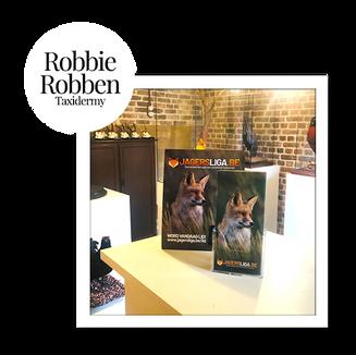 Taxidermie Robbie Robben