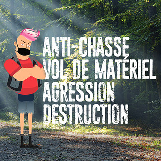 Actions anti-chasse