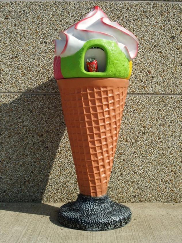 3D IJshoorntje vuilnisbak