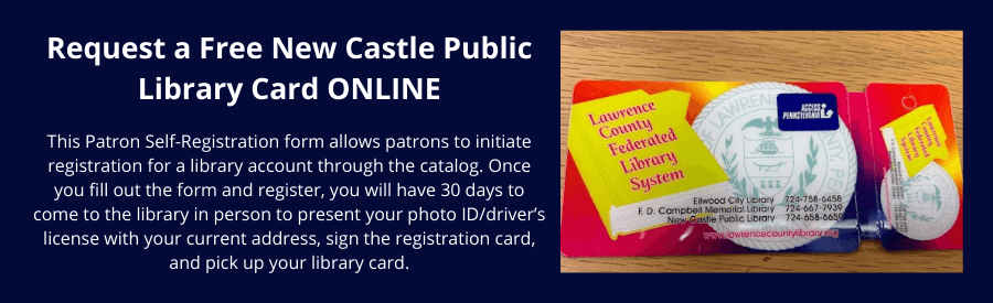 Request a Library Card Online
