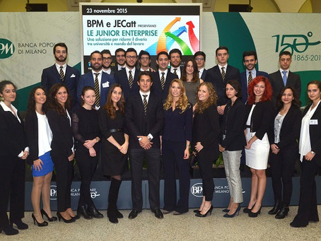 BPM e JECatt presentano: le Junior Enterprise