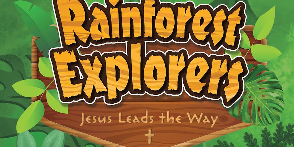 Vacation Bible School - Rainforest Explorers