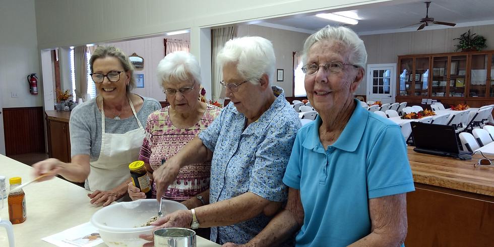 Communion Bread Baking