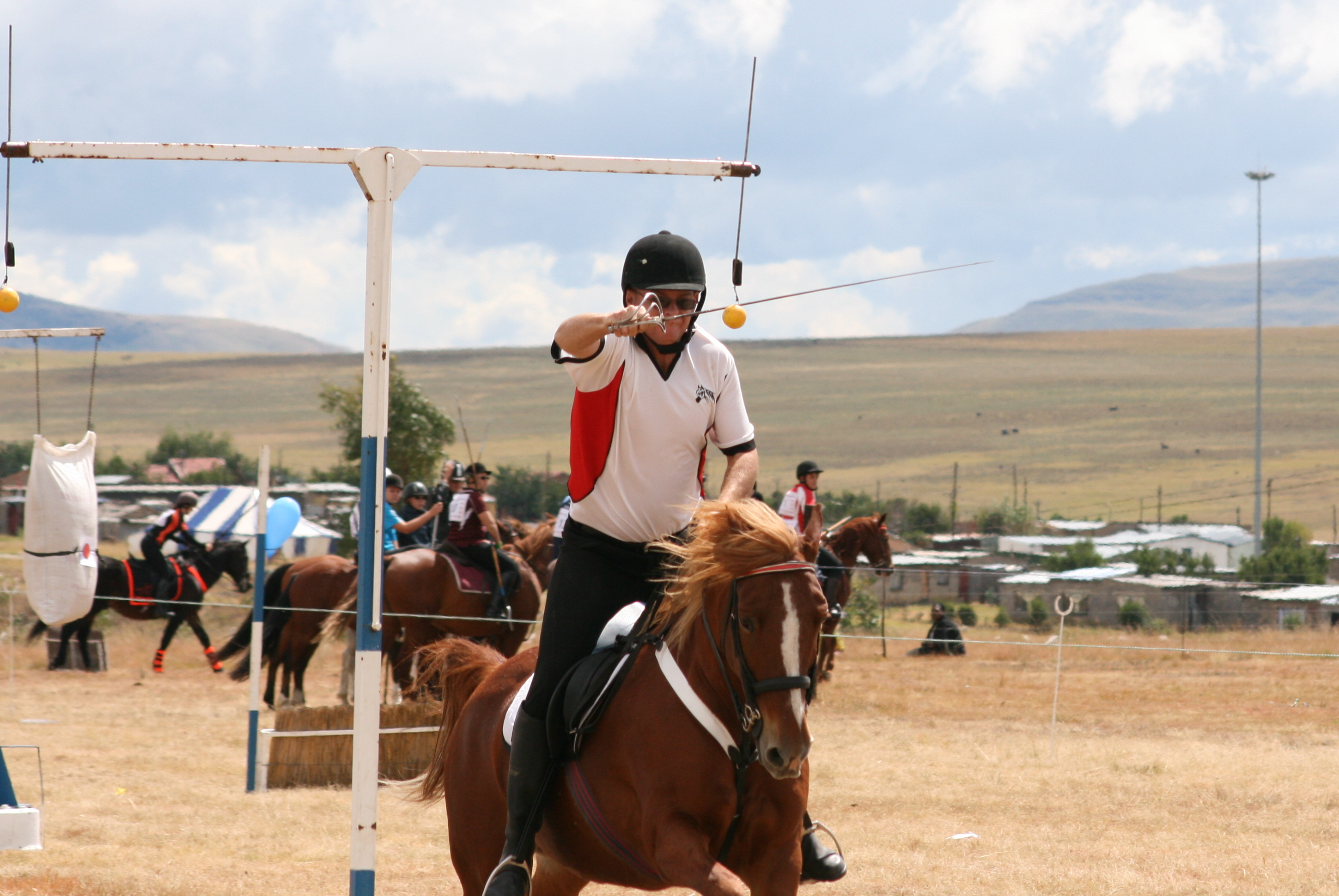 & Tent Pegging South Africa