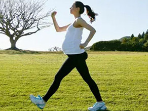 Want your child to have better neuromotor development? Exercise when you're pregnant.