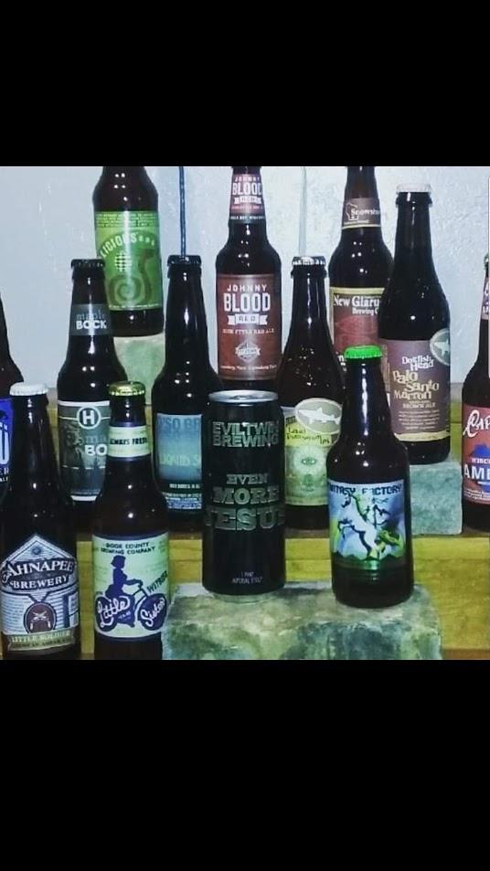 Over 30 Craft Beers