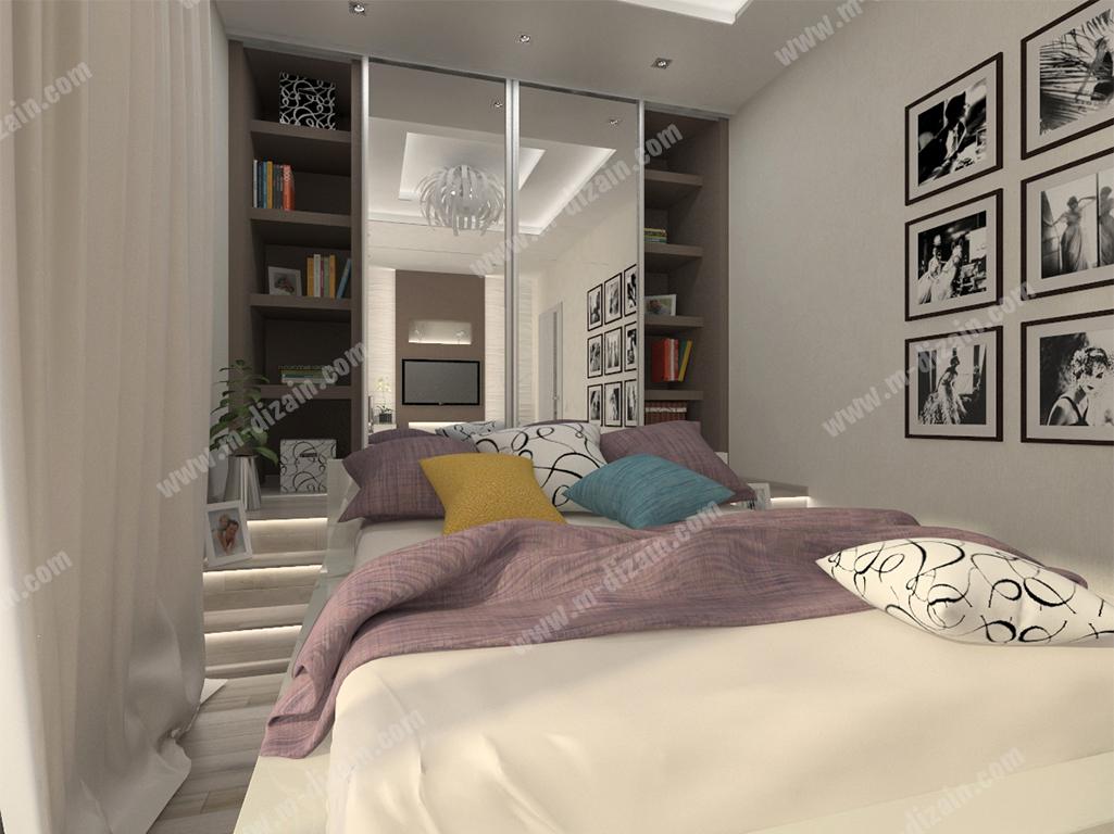 Система хранения и шкаф купе в спаль
