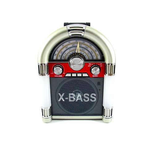 Радиоприемник - колонка с часами MEIER M-U65