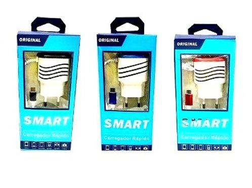 Сетевое зарядное устройство Micro USB 2,1А
