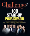 Dans les 100 start-up du magazine Challenges