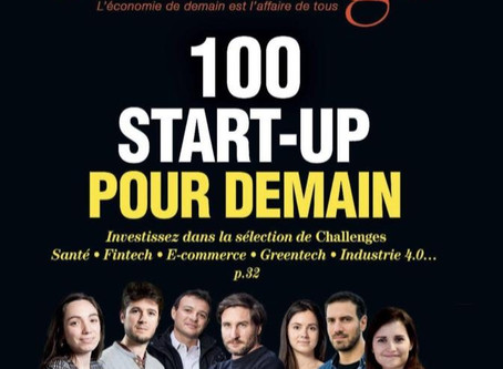 Dans les 100 start-up du magazine Challenges
