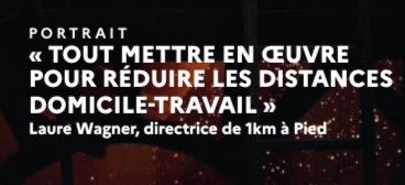 L'ADEME Mag présente 1km à Pied