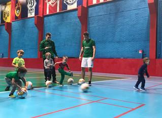 Воспитание юных футболистов
