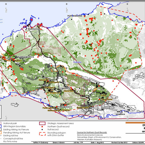 Pilbara Mines EBPC Act Strategic Assessment