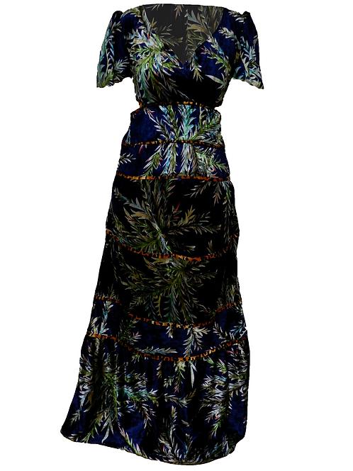 Vestido Largo Bintou Terciopelo