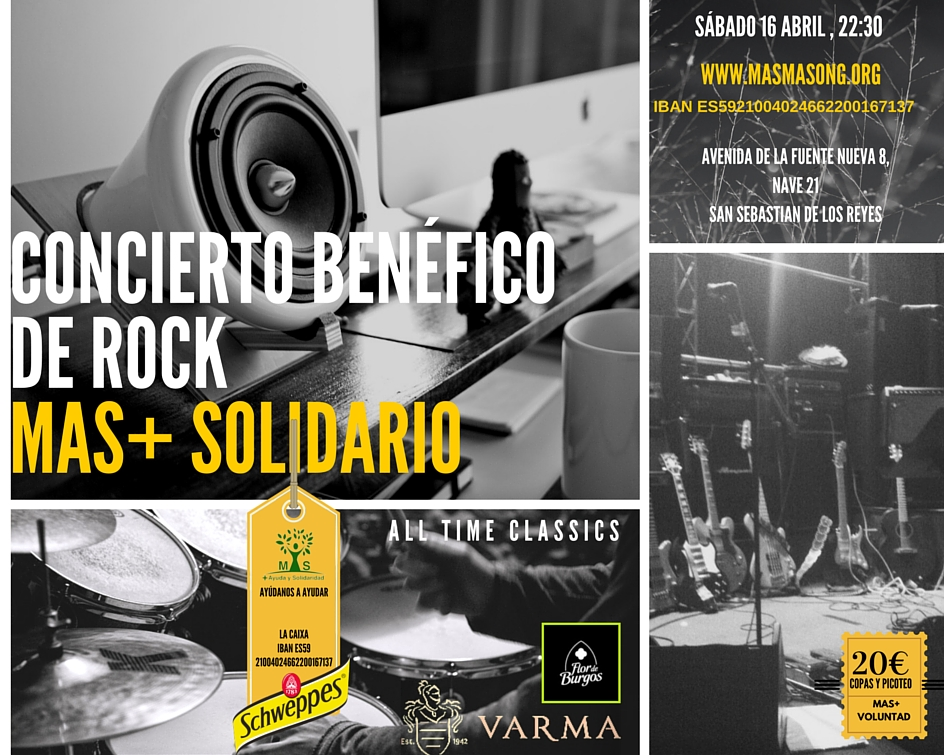 ROCK+ SOLIDARIO