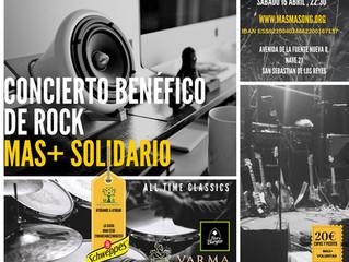 CONCIERTO DE DAM ROCK MAS+ SOLIDARIO