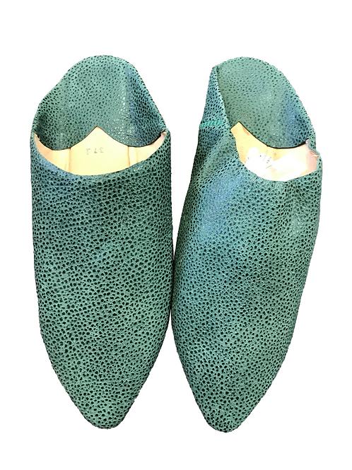 Babuchas Verdes Serpiente