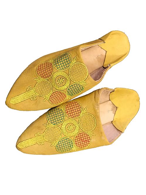 Babuchas Amarillas Círculos