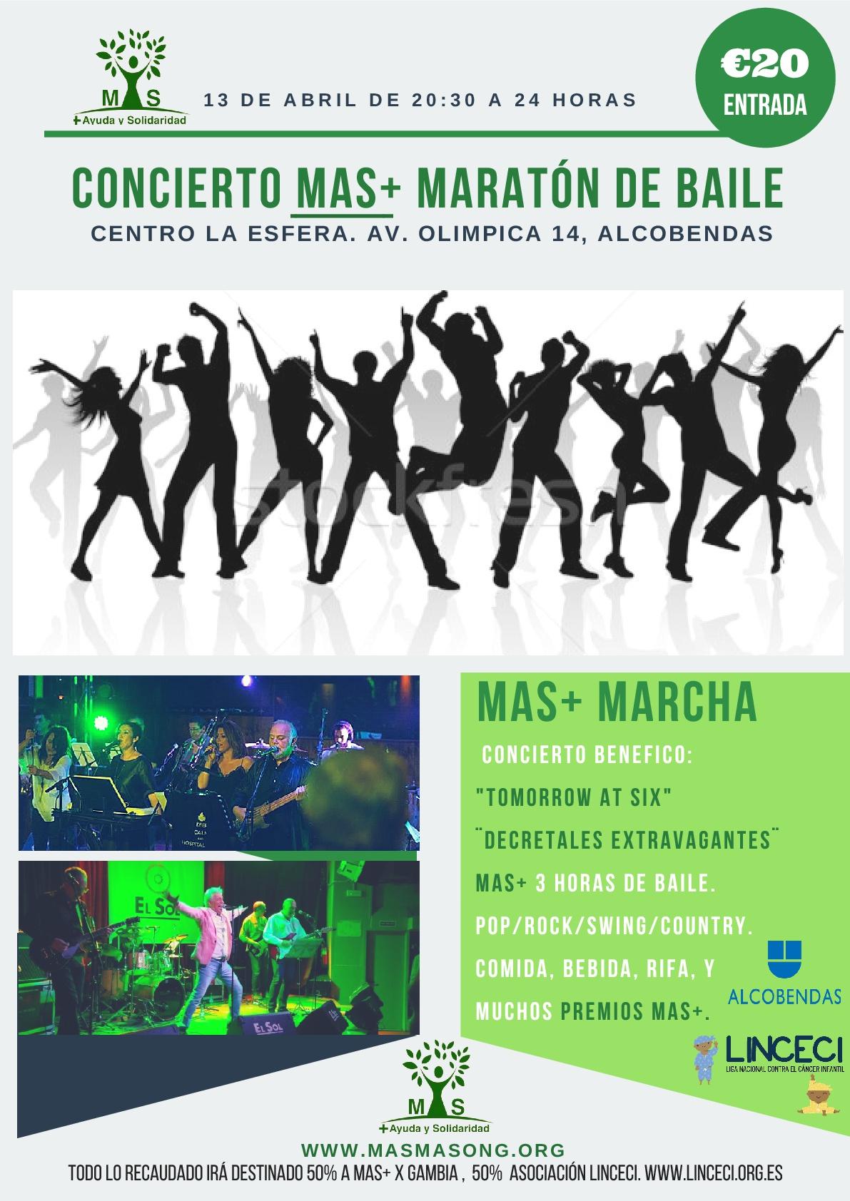 MAS+ MARCHA 2018