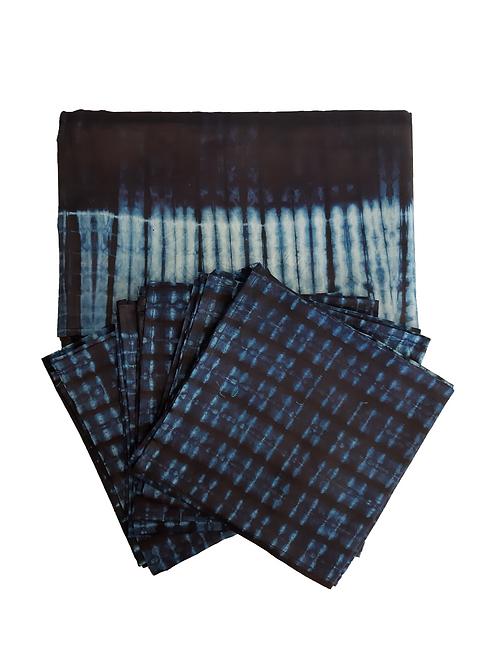 Mantel y Servilletas Azules