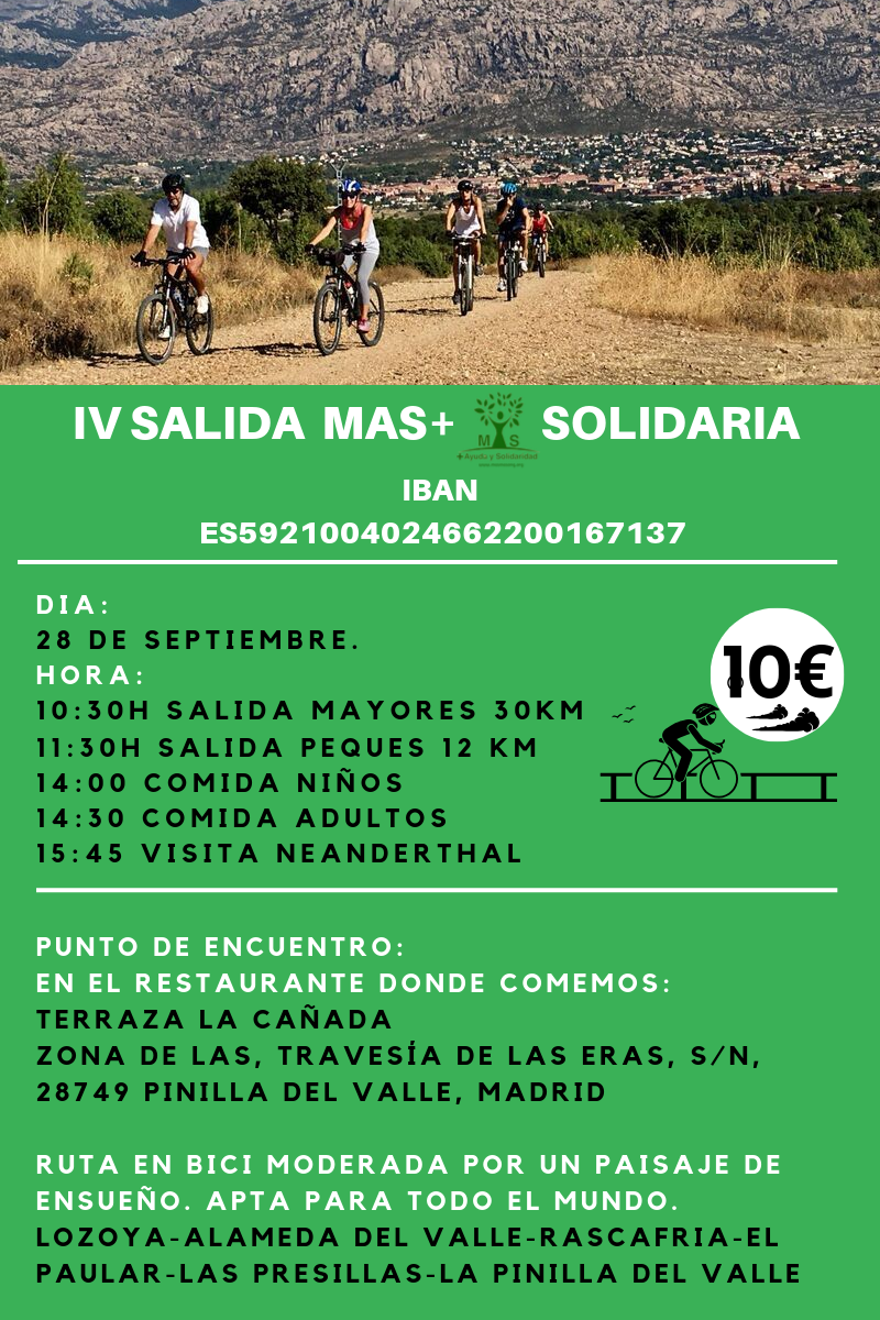 IV SALIDA EN BICI + SOLIDARIA-3