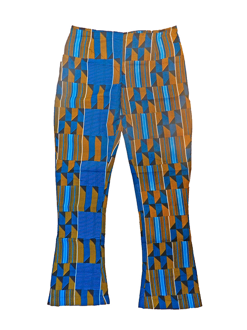 Pantalón Azul y Amarillo