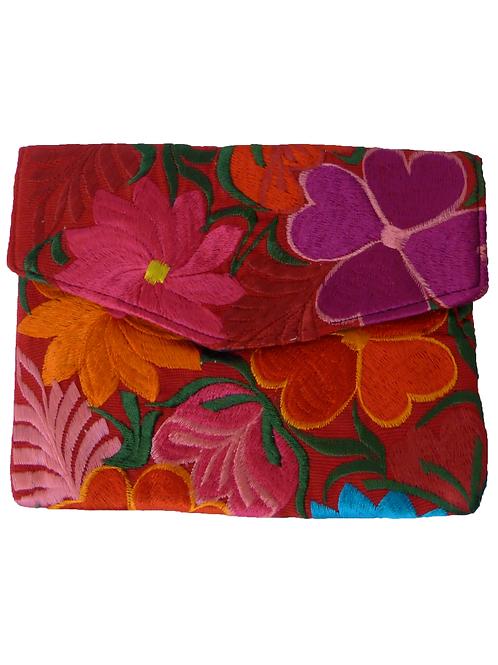 Clutch estampado flores Iris