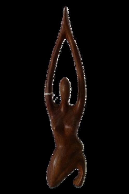 Figura Madera Mujer