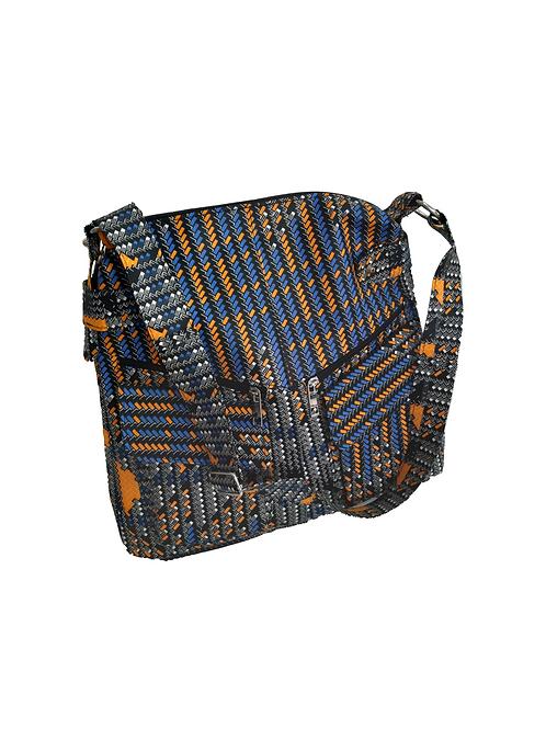Bolso Tela Azul Sukaru
