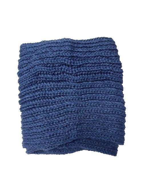 Cuello Lana Azul