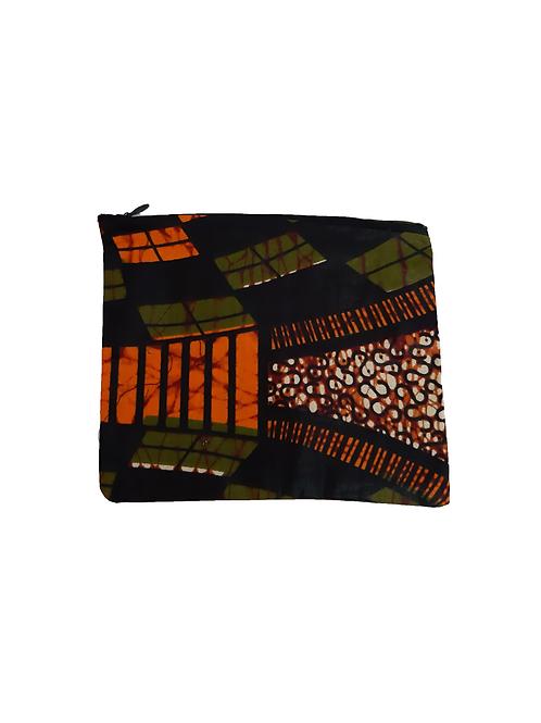 Monedero Verde y Naranja