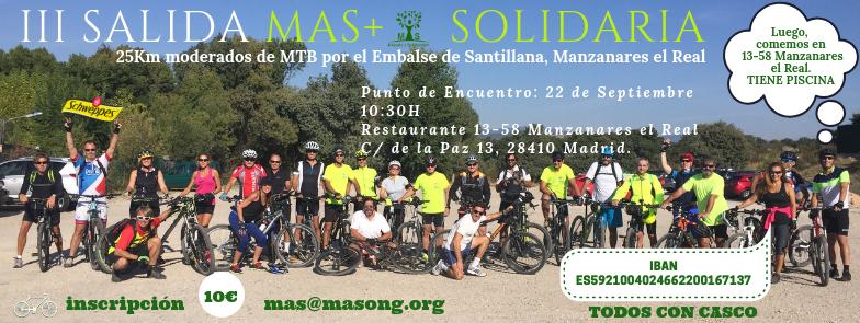 III Salida Solidaria Bici
