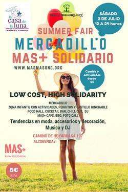 MERCADILLO MAS+ SOLIDARIO