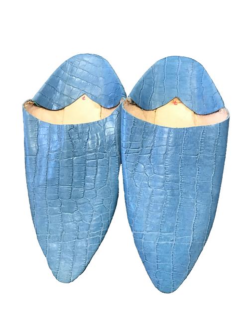 Babuchas Azules Serpiente