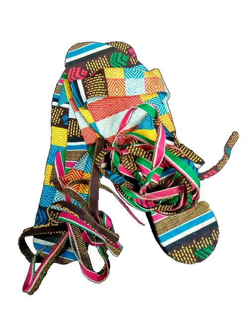 Sandalias Multicolor