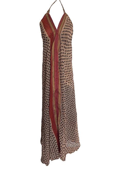 Vestido Recto Pico Kavita